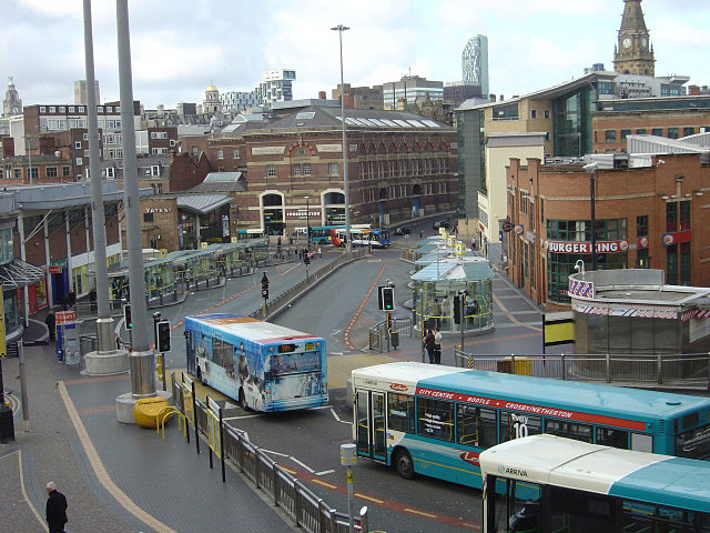 Queen Square Bus Station
