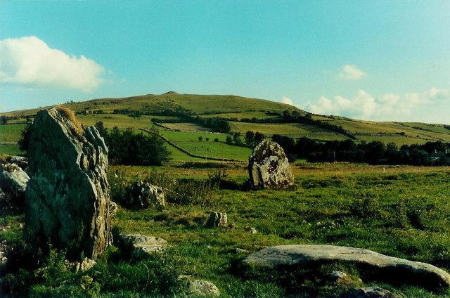 Ballinvally stone circle, Co. Meath