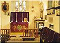 TQ1078 : St Dunstan's Church, Cranford (Interior) by Andrew Hackney