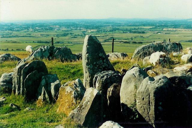 Cairn S, Slieve na Calliagh, Co. Meath