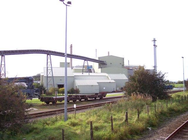 Kirkby Thore Gypsum plant