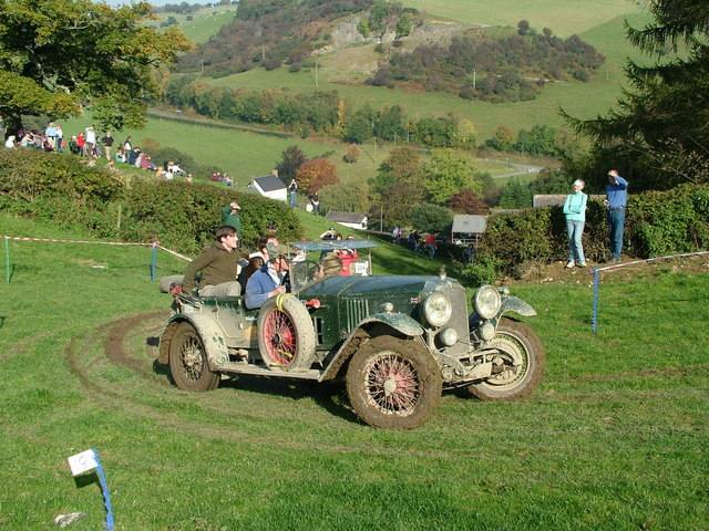 Vintage Sports Car Club Hill Climb C Peter Evans :: Geograph Britain