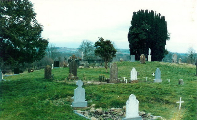 Graveyard at Knock, Co. Meath