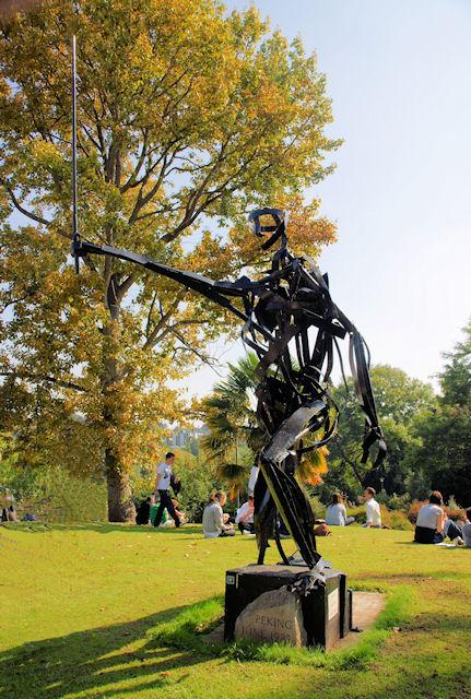 Tiananmen Square Sculpture, University of Exeter