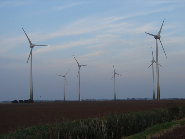 Wind Farm near Mablethorpe