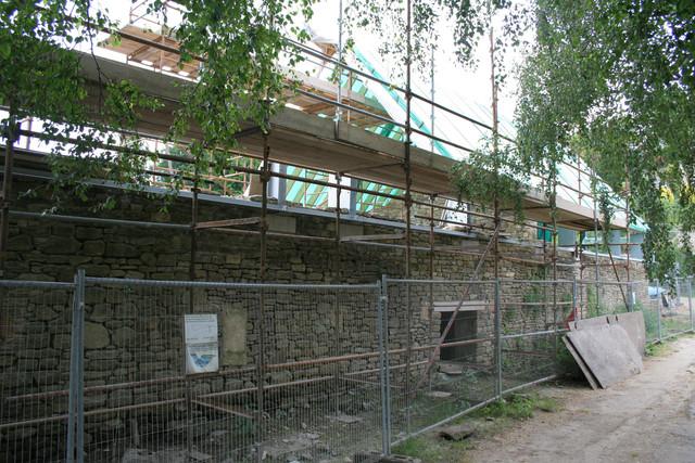 Restoration work, Tellisford Mill
