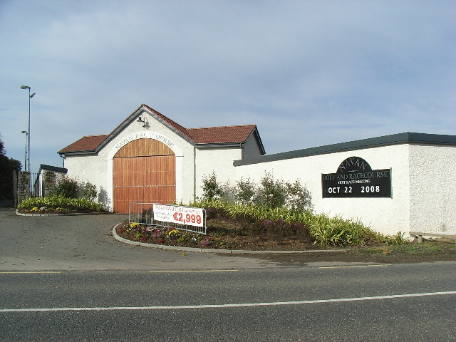Navan Racecourse Entrance