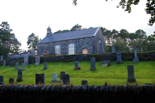 Acharacle Church of Scotland / Eaglais Ath-Tharracail