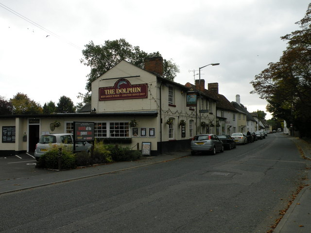 The Dolphin Melbourn 169 Keith Edkins Geograph Britain