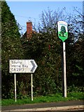 TR1661 : Broad Oak village sign by Nick Smith