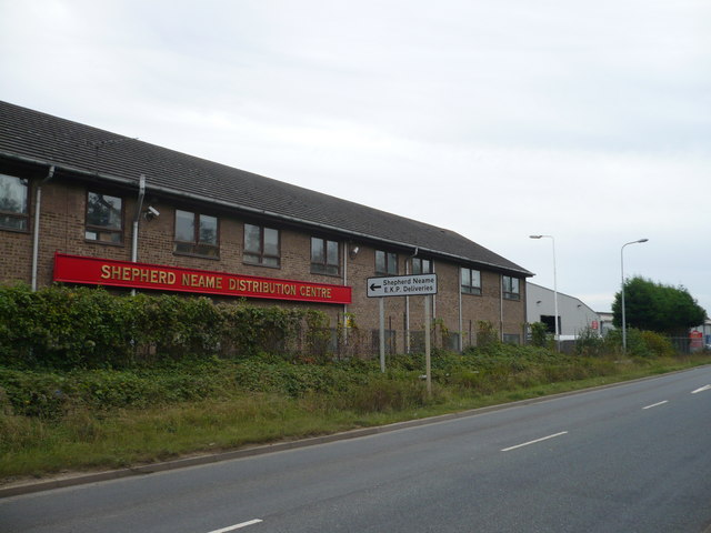 Shepherd Neame Brewery distribution centre