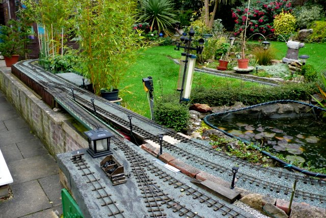 Garden Railway Stalbridge Nigel Mykura Geograph Britain and