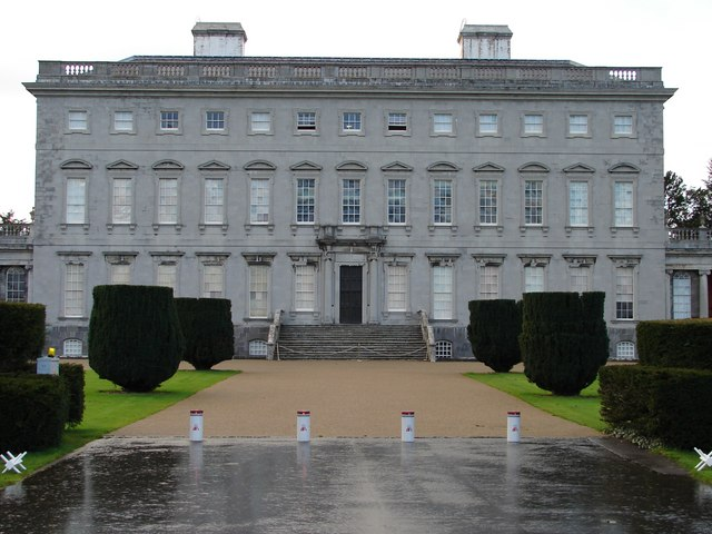 Front Elevation, Castletown House © Ian Paterson ...