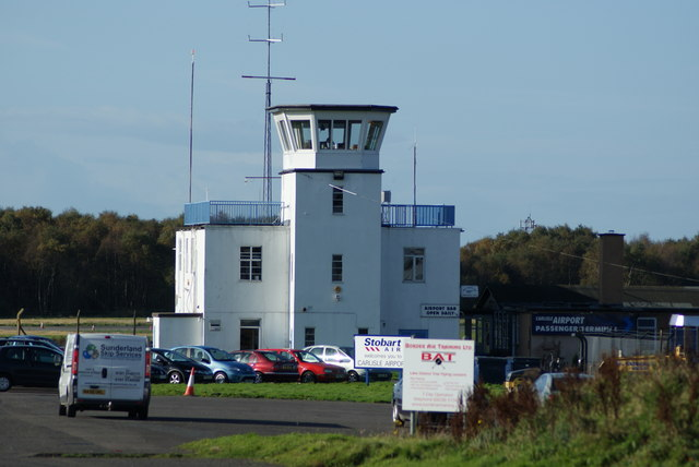 Carlisle Airport tower