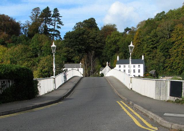 Chepstow 1816 bridge