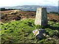 NS4280 : Trig point on Pappert Hill by Lairich Rig