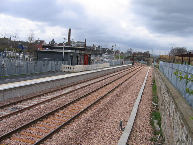 Alloa station-to-be