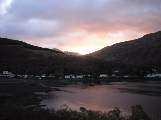 Dawn over Arrochar