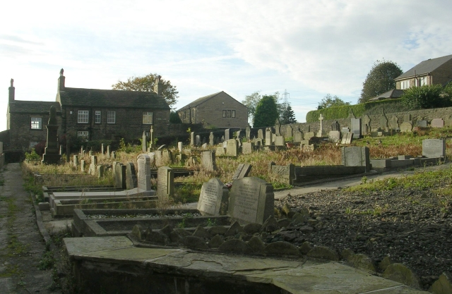 Southowram Methodist Chapel Graveyard - Chapel Lane