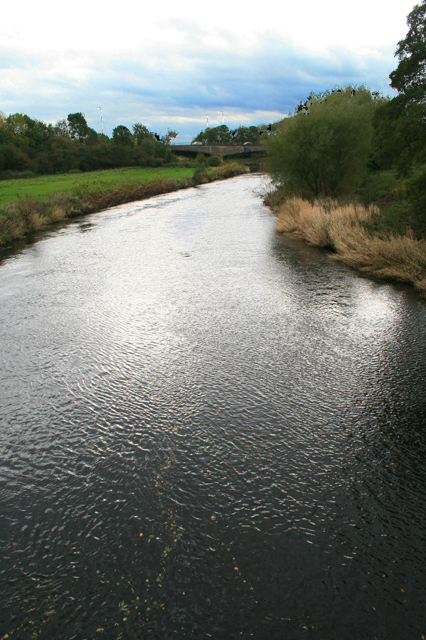 The Derwent from Allestree Ford Bridge