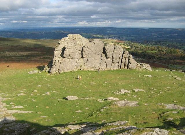 Dartmoor Haytor Rocks 169 Nigel Cox Geograph Britain And