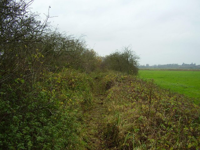 Trackbed west of Beccles