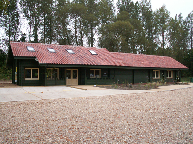 Visitor centre, Sculthorpe Moor Community Nature Reserve