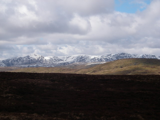 Aran Fawddwy (906m) from Allt yr Eryr