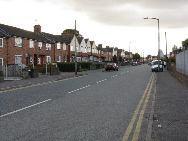 Tipton street scene