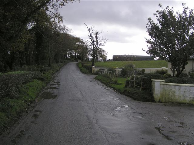 Road at  Veagh