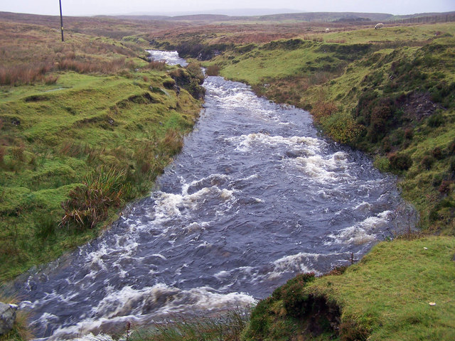 River Roskhill after rain