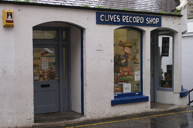 Clive's Record Shop, Lerwick