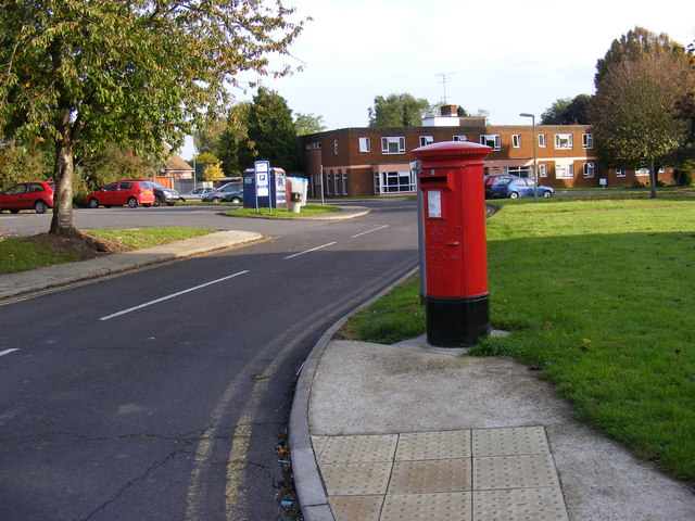 The Street Postbox on corner of the B1438 The Street