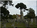 SZ1292 : Bournemouth East Cemetery chapel by Mike Faherty