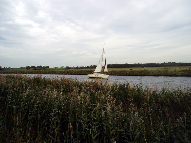 Sailing on the River Bure