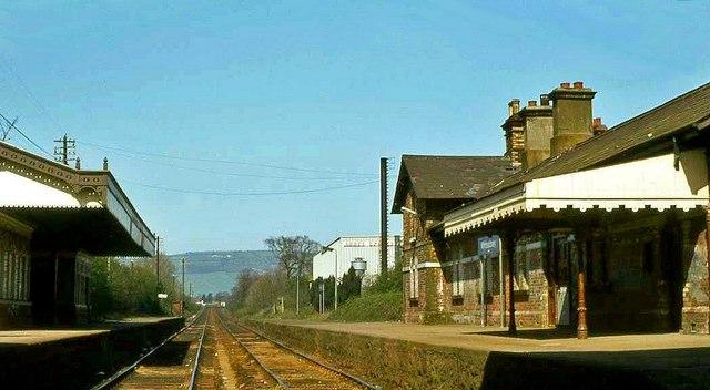 Whiteabbey Station 1984 169 Albert Bridge Geograph Ireland