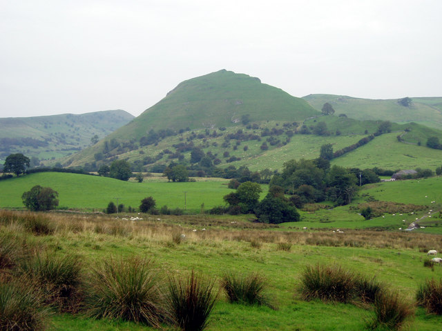Looking Northwest towards Chrome Hill