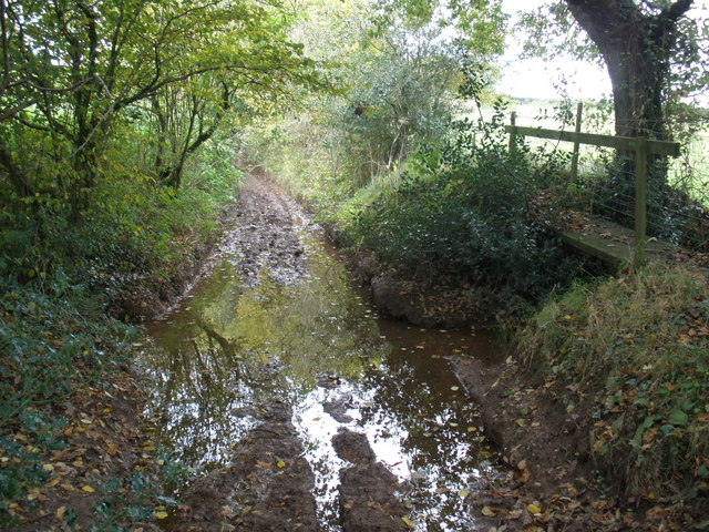 Ford, south of Ashill