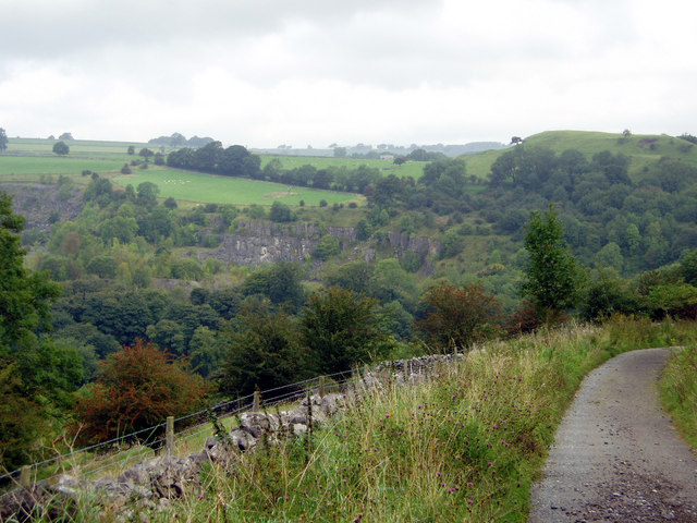 Miller's Dale from the Limestone Way