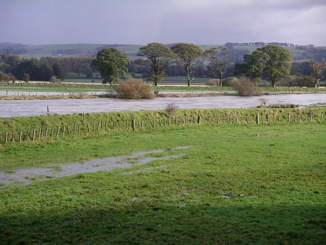 River Annan in flood