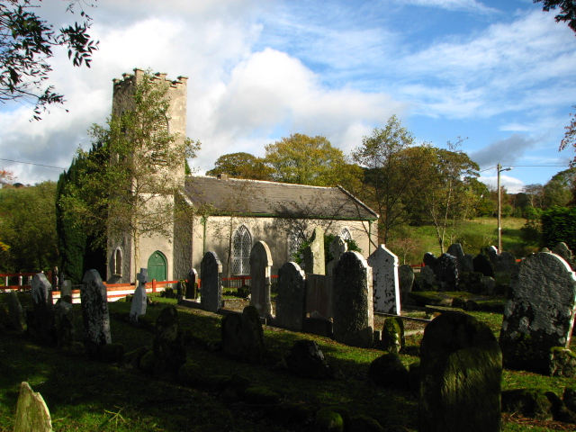 Clonmore Church and graveyard