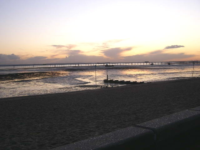 Southend-on-Sea sunset