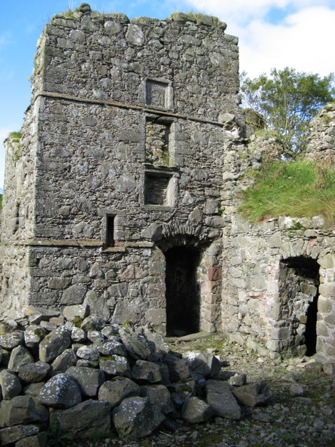 North-eastern part of Pitsligo Castle