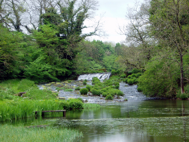 Weir on River Lathkill