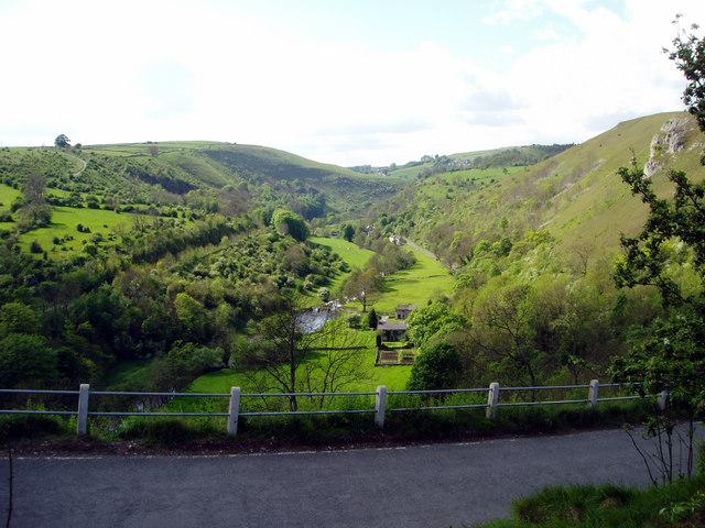 Towards Upperdale from  Monsal Head