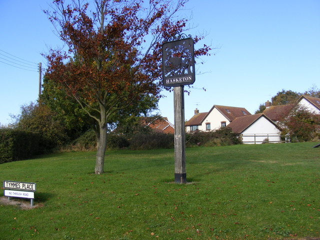 Hasketon Village Sign