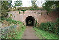 TQ5546 : Railway Bridge, Leigh. by N Chadwick