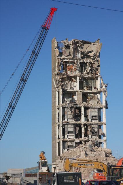 3 Silo Demolition : Haughley silo demolition bob jones geograph britain