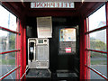 TL4849 : What a phone box looked like inside by Keith Edkins