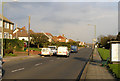 TQ3405 : Warren Road, Woodingdean by Kevin Gordon